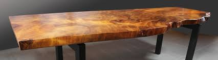 Custom Wood Furniture - Live Edge Design